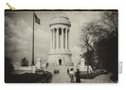 Soldiers Memorial - Ny - Toned Carry-all Pouch