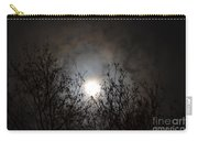 Solemn Winter's Moonlight Carry-all Pouch