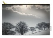 Solitude Of Coldness Carry-all Pouch