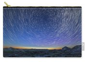 Solstice Star Trails At Dinosaur Park Carry-all Pouch