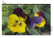 Solvang Pansies Carry-all Pouch