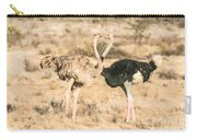 Somali Ostriches Kissing Carry-all Pouch