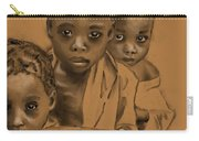 Somalian Children Carry-all Pouch