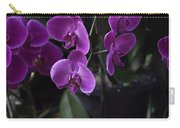 Some Very Beautiful Purple Colored Orchid Flowers Inside The Jurong Bird Park Carry-all Pouch