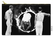 Somersault Through Flames Carry-all Pouch