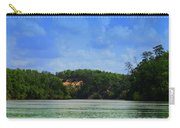 Somewhere On The River Carry-all Pouch