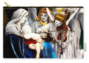 Song Of The Angels By Bouguereau Carry-all Pouch