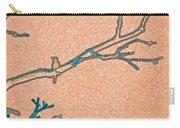 Songbird Peach Carry-all Pouch
