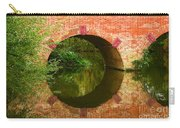 Sonning Bridge On The River Thames Carry-all Pouch