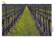 Sonoma Mustard Grass Carry-all Pouch