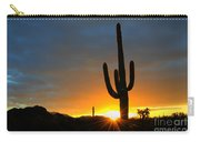 Sonoran Desert Sunrise 4 Carry-all Pouch