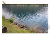 Soothing Lake Crescent Carry-all Pouch