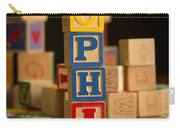 Sophia - Alphabet Blocks Carry-all Pouch
