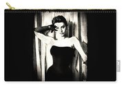 Sophia Loren - Black And White Carry-all Pouch