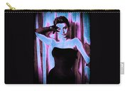 Sophia Loren - Blue Pop Art Carry-all Pouch