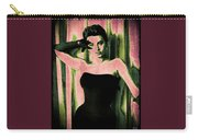 Sophia Loren - Pink Pop Art Carry-all Pouch