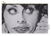 Sophia Loren Telephones Carry-all Pouch