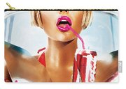 Sophie Monk Painting Carry-all Pouch