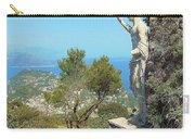 Sorrento Peninsula From Mt Solaro Capri  Carry-all Pouch