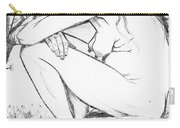 Sorrow After Vincent Van Gogh  Carry-all Pouch