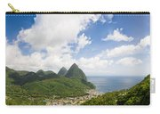 Soufriere St. Lucia Carry-all Pouch