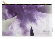 Soul In The Sky - Us Air Force Memorial Carry-all Pouch