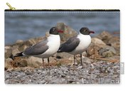 Mr. And Mrs. Laughing Gull  Carry-all Pouch