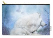 Soul Mates - White Wolves Carry-all Pouch
