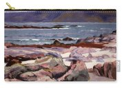 Sound Of Iona  The Burg From The North Shore Carry-all Pouch