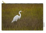 Soundside Park Topsail Island Egret Carry-all Pouch