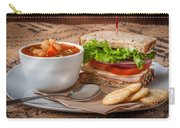 Soup And Sandwich Carry-all Pouch