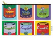 Soup Cans Carry-all Pouch