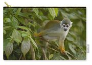 South American Squirrel Monkey Amazonia Carry-all Pouch