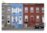 South Baltimore Row Homes Carry-all Pouch