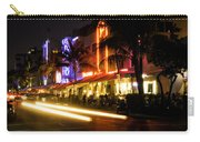 South Beach After Dark Carry-all Pouch