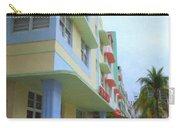 South Beach Facades Carry-all Pouch