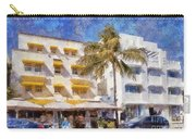 South Beach Miami Art Deco Buildings Carry-all Pouch