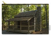 South Carolina Log Cabin Carry-all Pouch