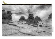 South Coyote Buttes Monochrome 1 Carry-all Pouch