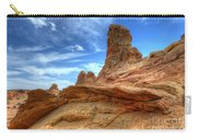 South Coyotte Buttes 8 Carry-all Pouch by Bob Christopher