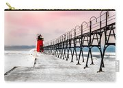 South Haven Light And Pier Carry-all Pouch