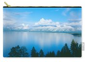 South Lake Tahoe In Winter, California Carry-all Pouch