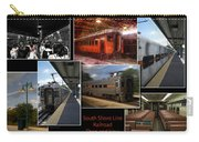 South Shore Line Railroad Collage Carry-all Pouch