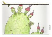 South Texas Nopales For Breakfast Carry-all Pouch