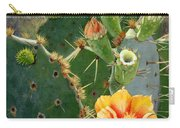 South Texas Prickly Pear Carry-all Pouch