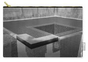 South Tower Pool In Black And White Carry-all Pouch