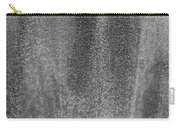 South Tower Rain In Black And White Carry-all Pouch