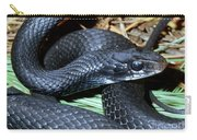 Southern Black Racer Coluber Priapus Carry-all Pouch