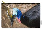 Southern Cassowary Portrait Carry-all Pouch