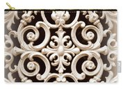 Southern Ironwork In Sepia Carry-all Pouch
